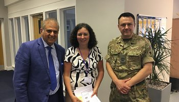 British Army visit Careline Lifetstyles