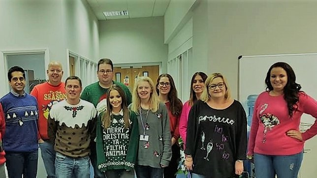 Careline Lifestyles Christmas jumper day
