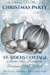 St. Aidens Cottage Christmas Party