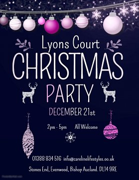 Lyons Court Christmas Party...